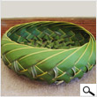 Coconut leaves basket